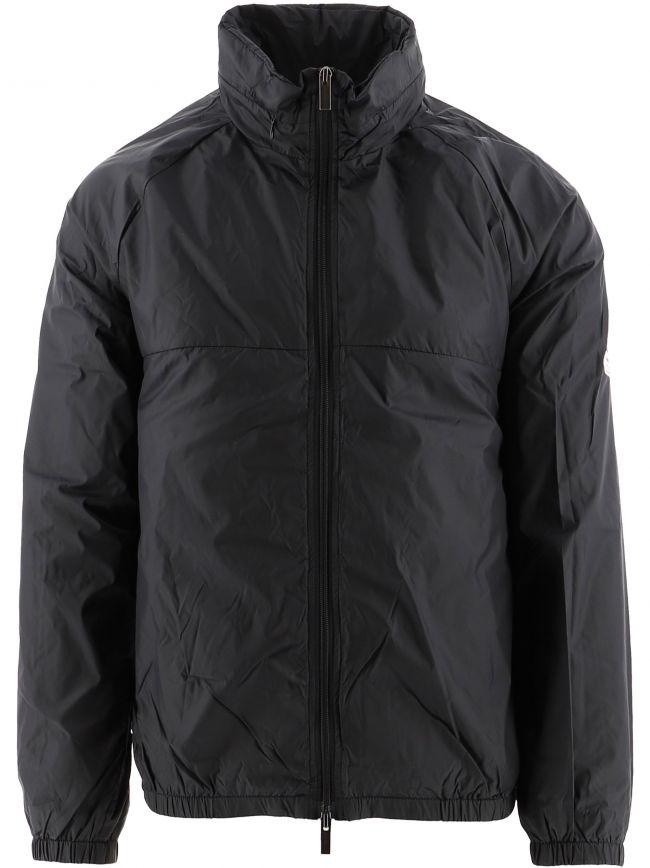 Black Seaside Windbreaker Jacket