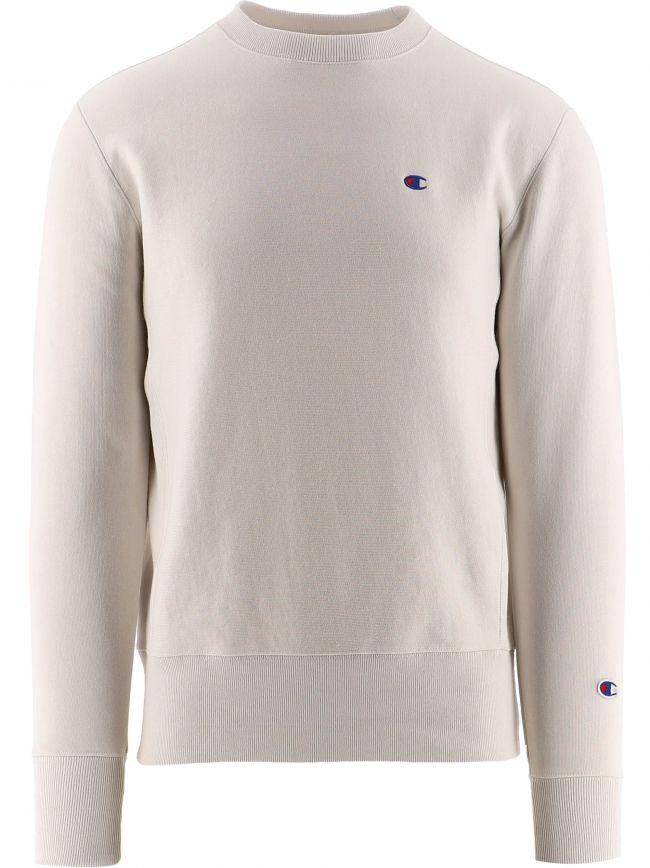 Off-White Reverse Weave Logo Sweatshirt