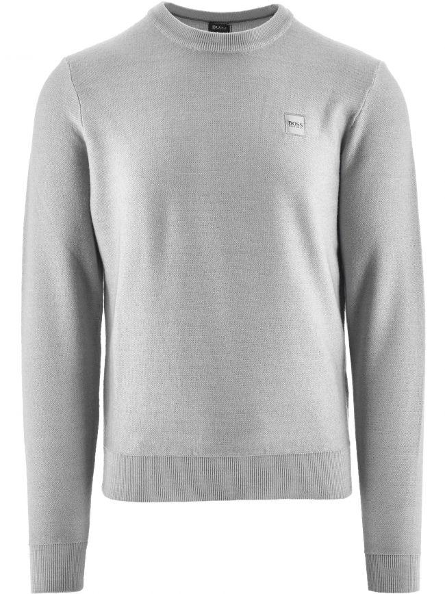 Grey Anitoba Regular Fit Sweater