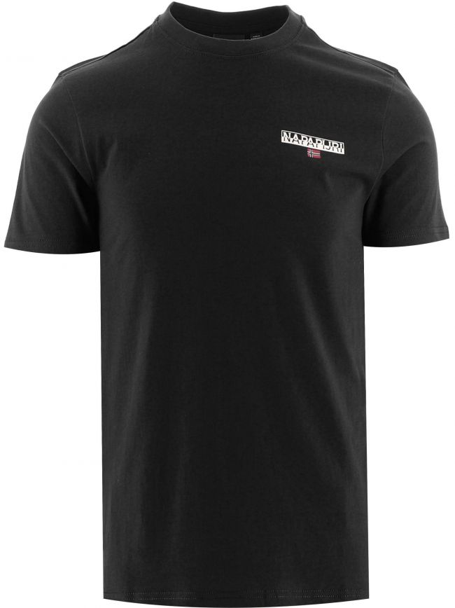 Black Short Sleeve Ice T-Shirt