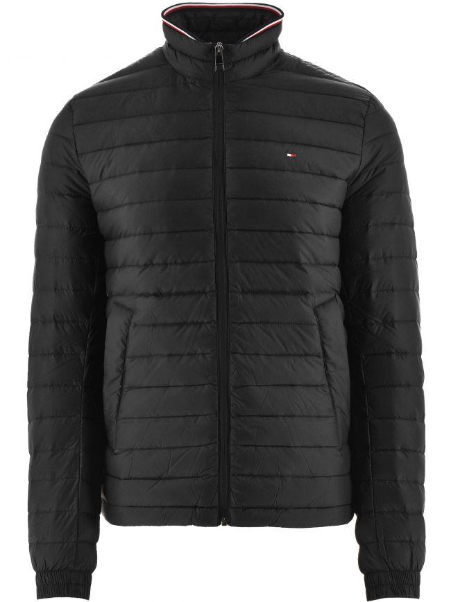 Black Core Packable Down Jacket