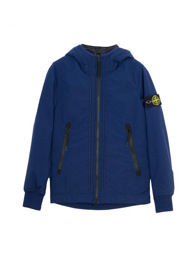 Navy Padded Soft Shell Jacket