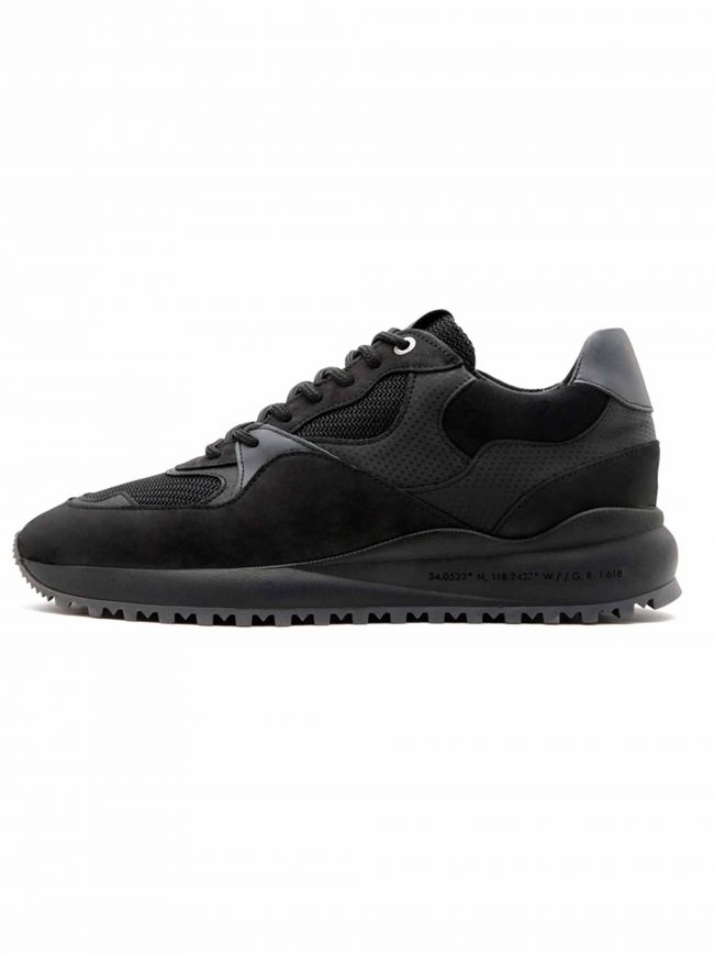 Santa Monica Black Carbon Fibre Sneaker