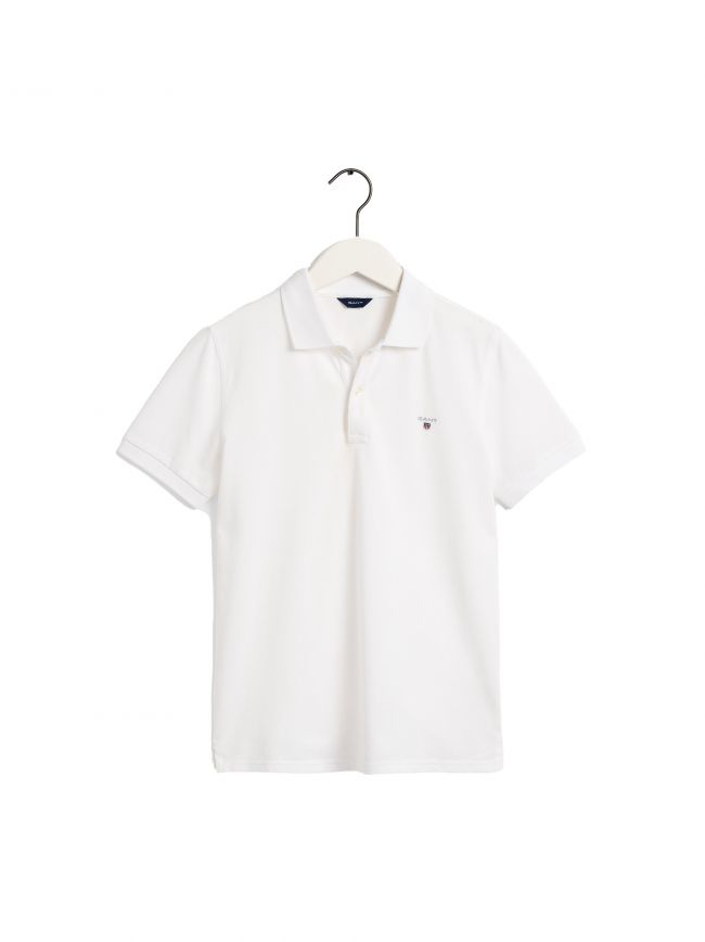 White Original Pique Polo Shirt