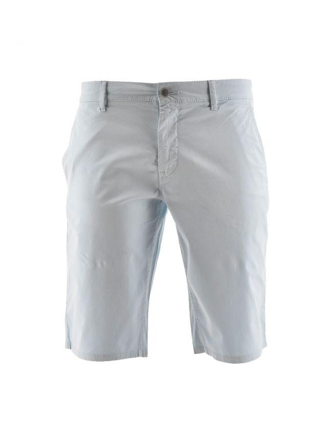 Blue Slim Chino Short