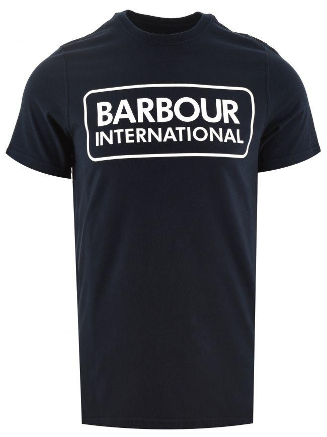 Navy Essential Graphic Logo T Shirt