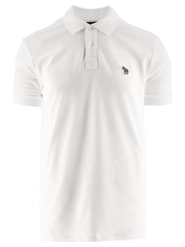 White Regular Short Sleeve Polo Shirt