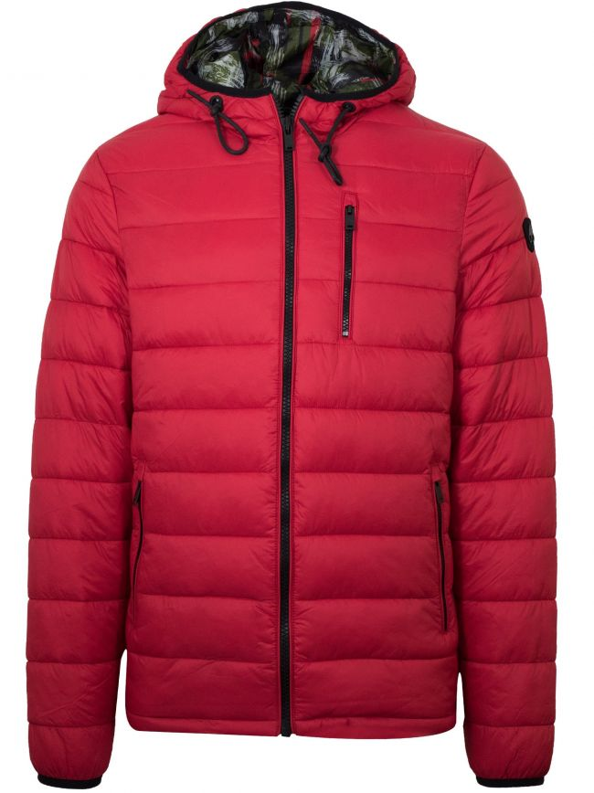 Red Ivvavik Lightweight Puffer Jacket