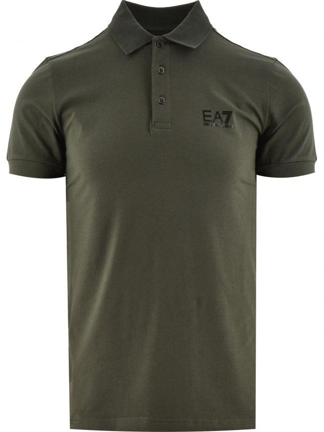Green Short Sleeve Polo Shirt