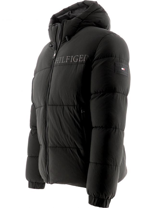 Black Warm High Loft Down Jacket