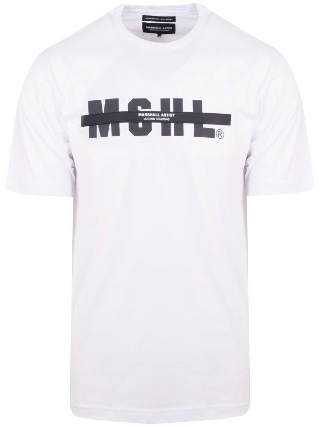 White Tech Logo T-Shirt