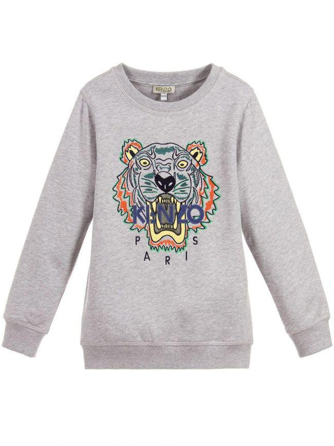 Tiger Grey Sweatshirt