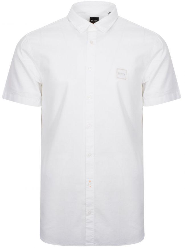 Magneton White Short Sleeve Shirt