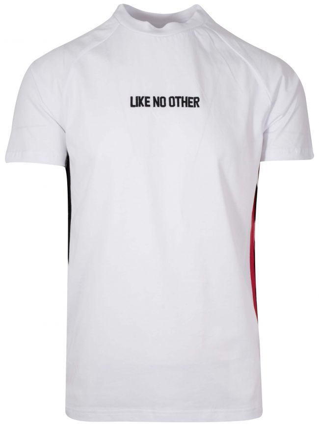 White 'Like No Other' Embroidered T-Shirt