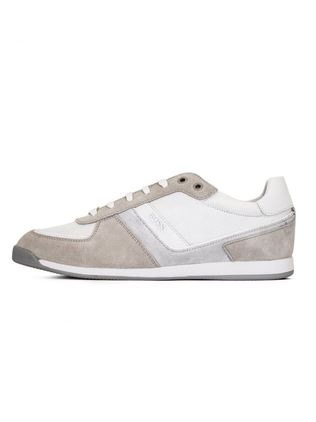 Natural Off-White Maze Low Trainer