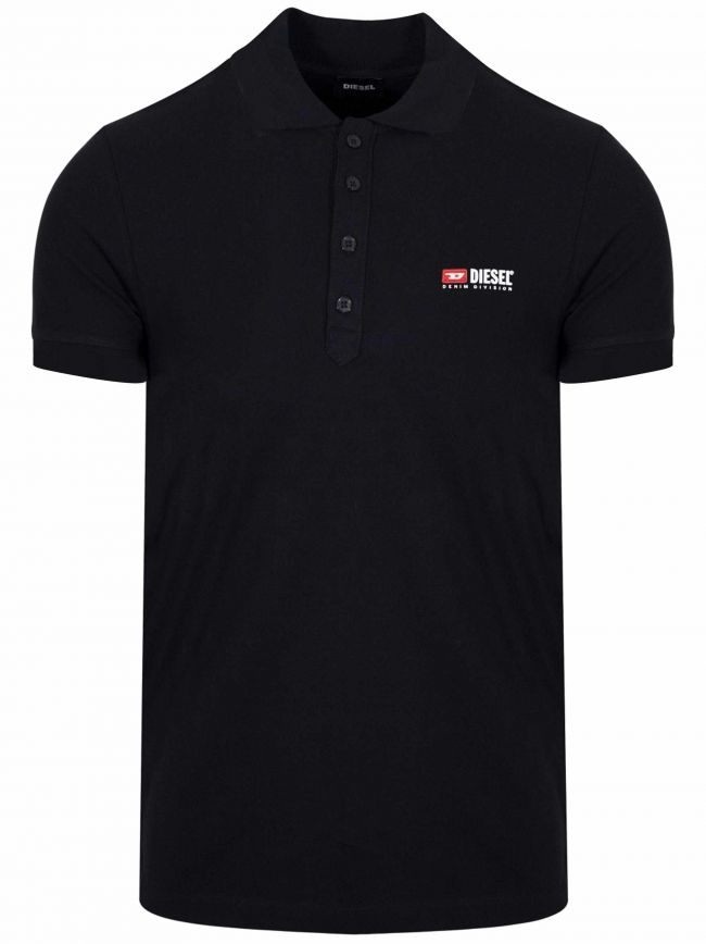 Black T-Weet Division Polo Shirt