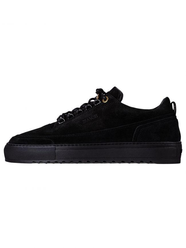 Black Firenze Suede Sneaker