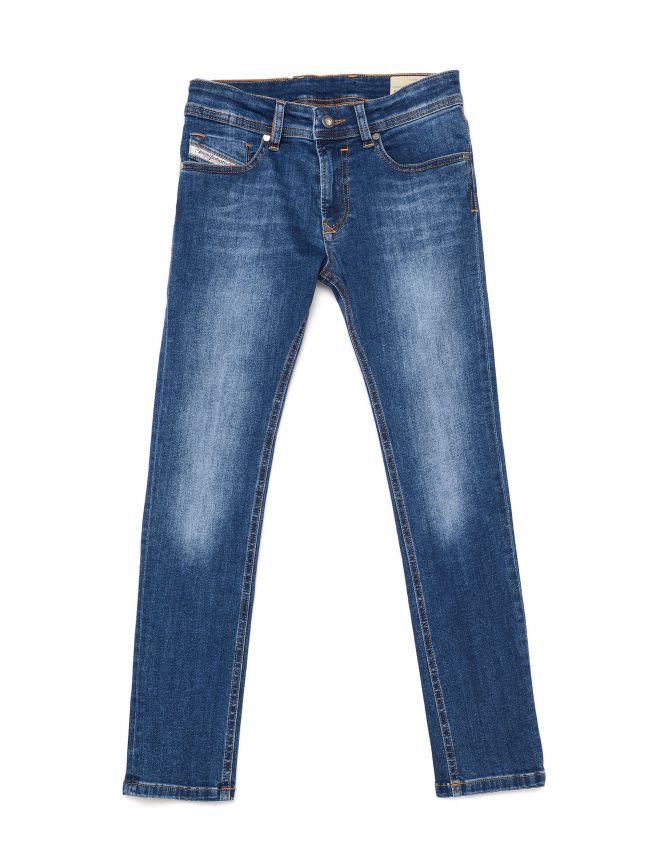 Diesel Kids Denim Blue Sleenker Skinny Jean