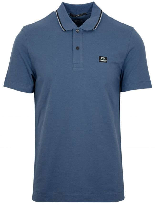 Ink Blue Slim Fit Polo