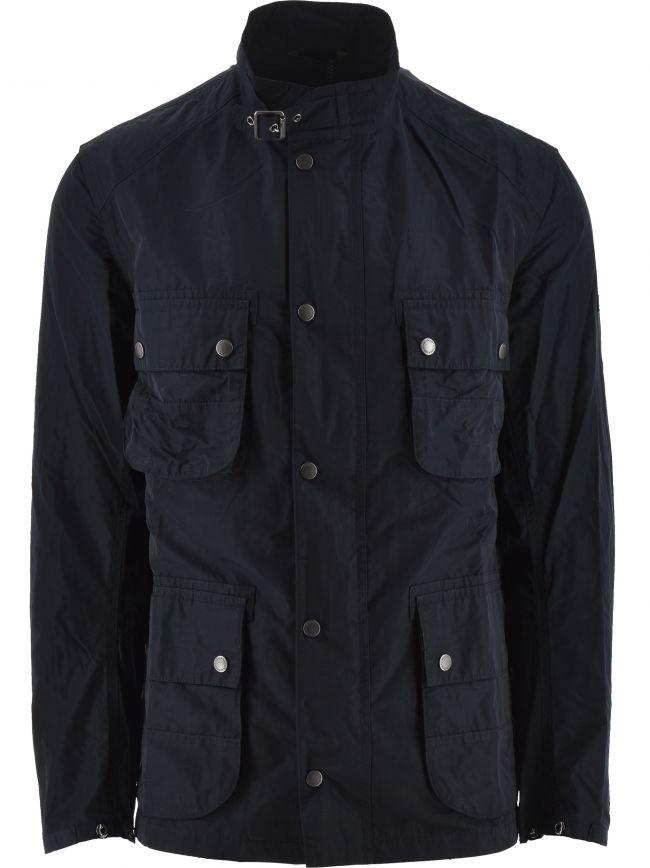 Navy Weir Casual Jacket