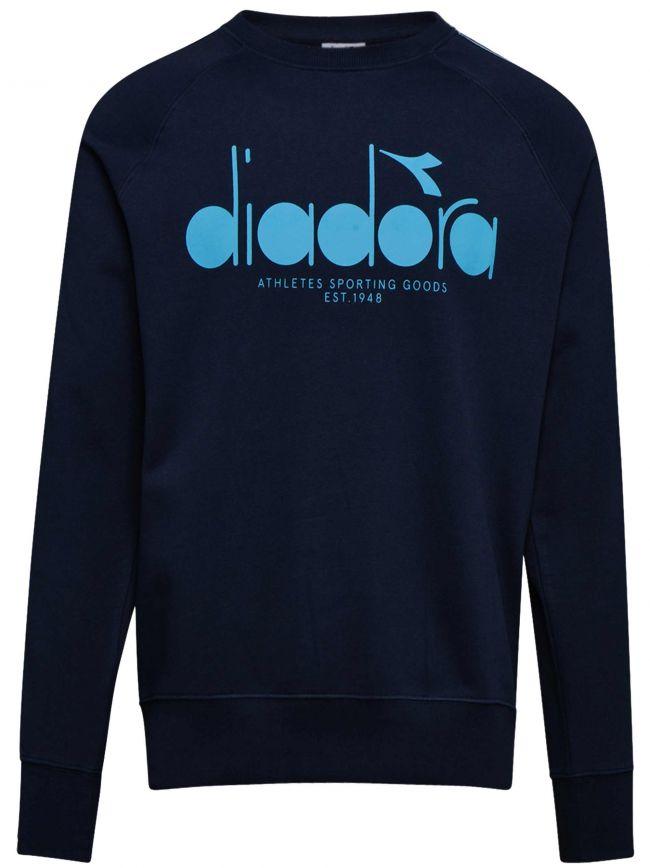 Navy Logo Offside Sweatshirt