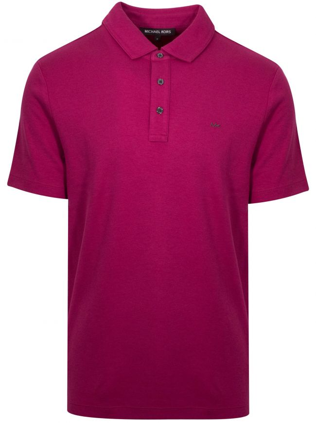 Classic Raspberry Polo Shirt
