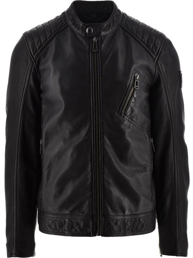 Black V Racer 2.0 Jacket