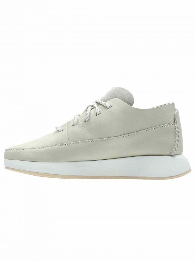 Off White Suede Kiowa Sport Sneaker