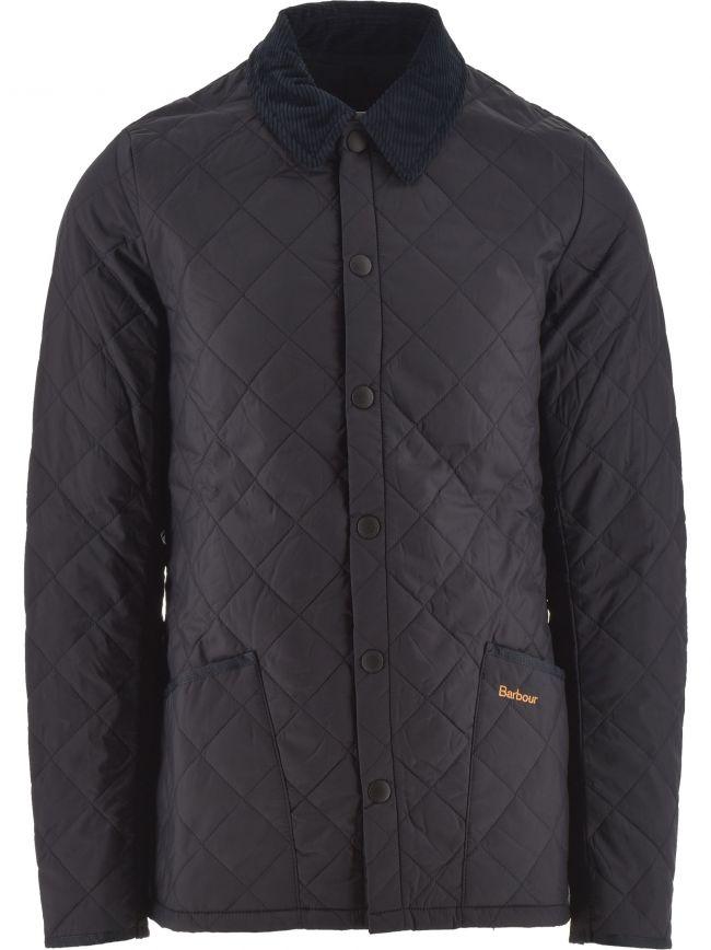 Navy Heritage Liddesdale Quilt Jacket