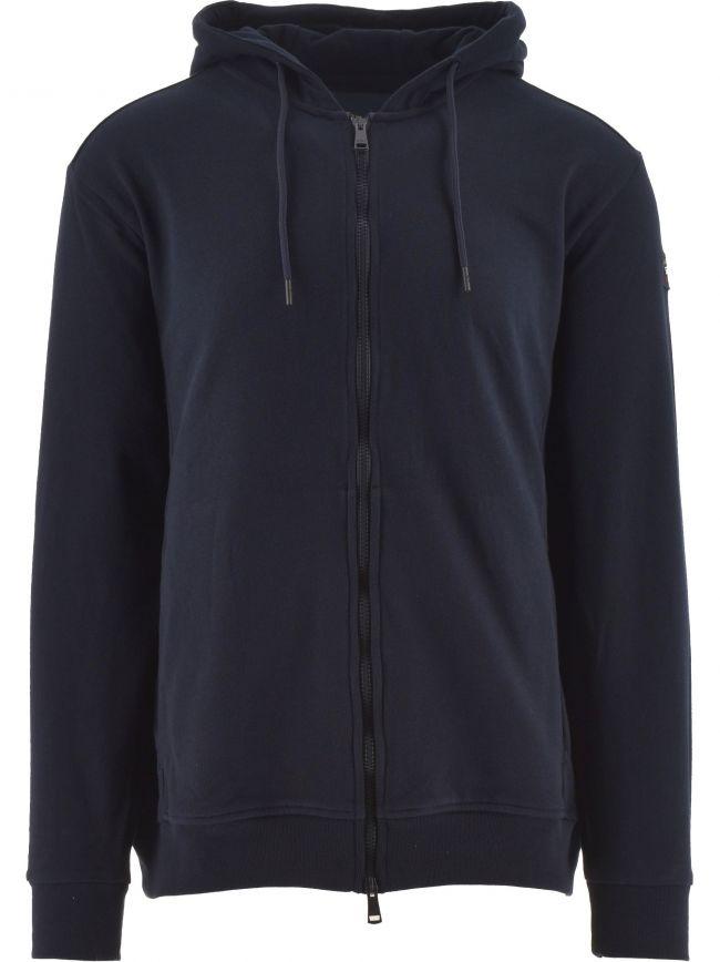 Blue Heritage Logo Fleece Zip Sweater