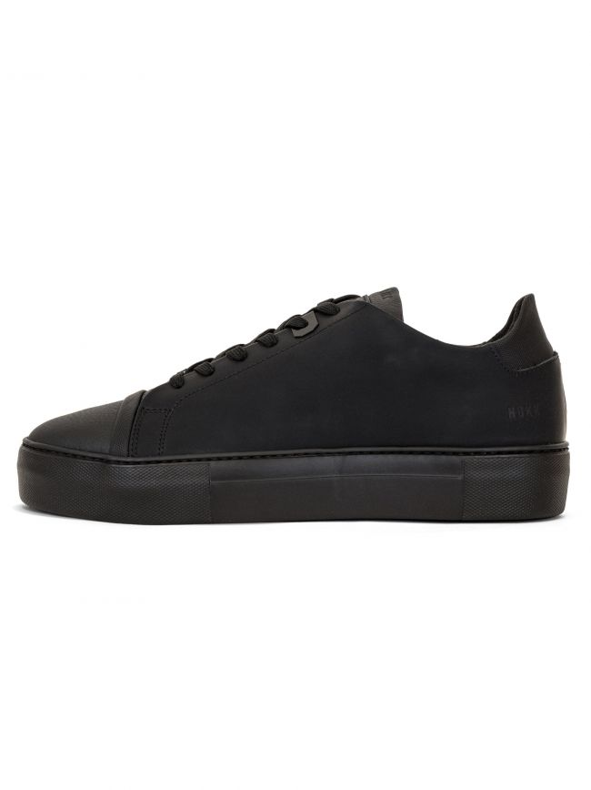 Triple Black Nubuck Jagger Aspen Raven Sneaker