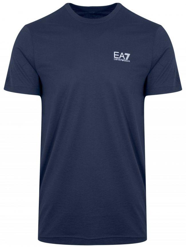 Navy Short Sleeve Logo T-Shirt