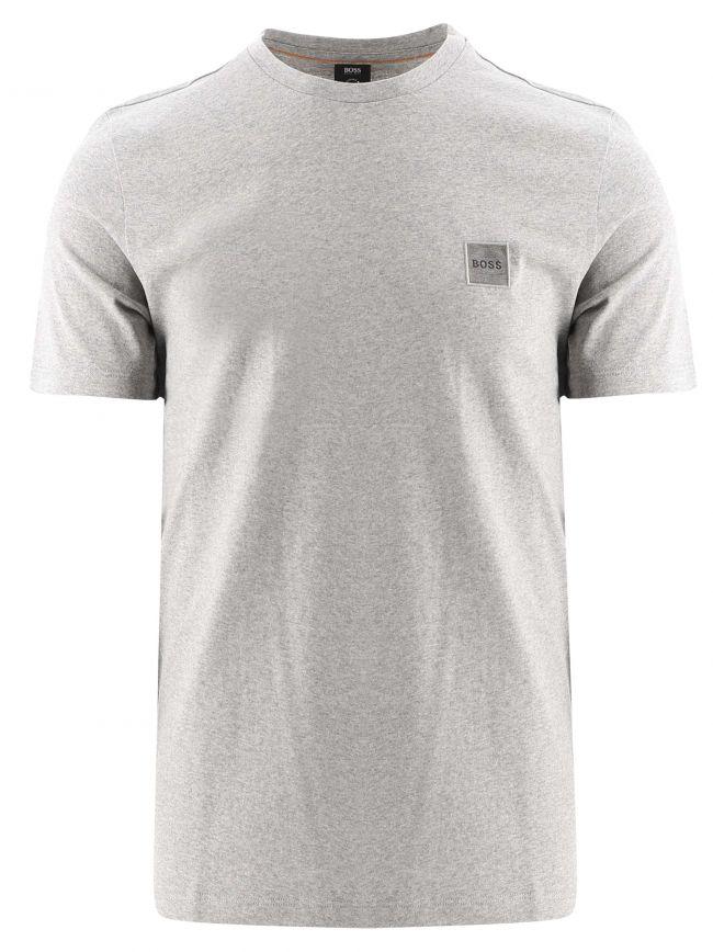 Light Grey Crew Neck Organic Cotton Tales 1 T-Shirt