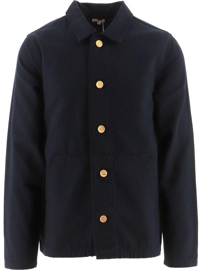 Navy Fisherman Jacket