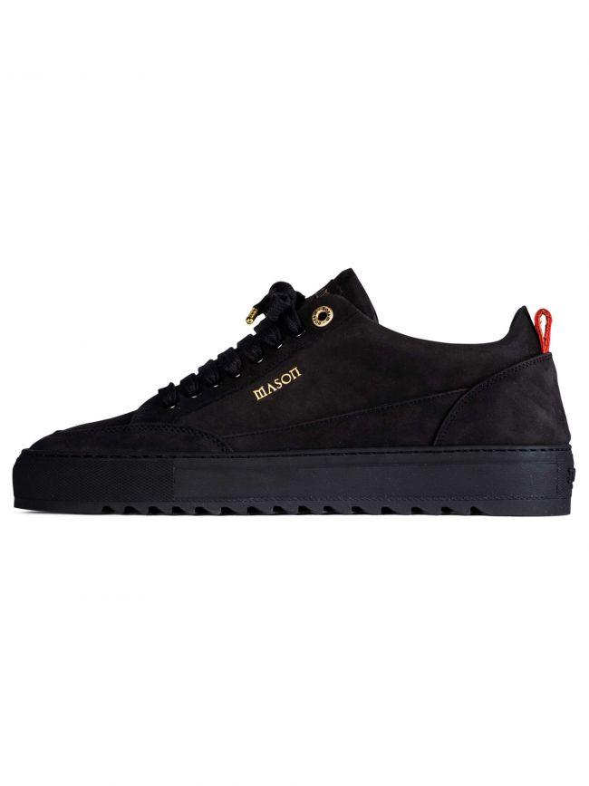 Black Nubuck Tia Sneaker