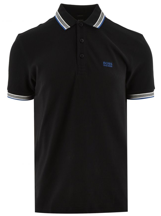 Black Paddy Polo Shirt