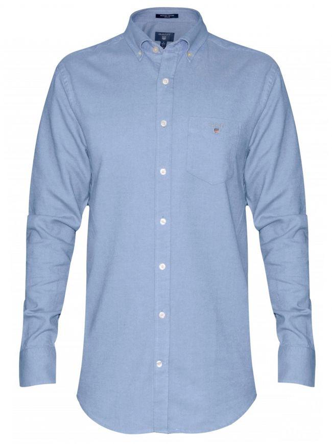 Capri Blue Oxford Regular Shirt