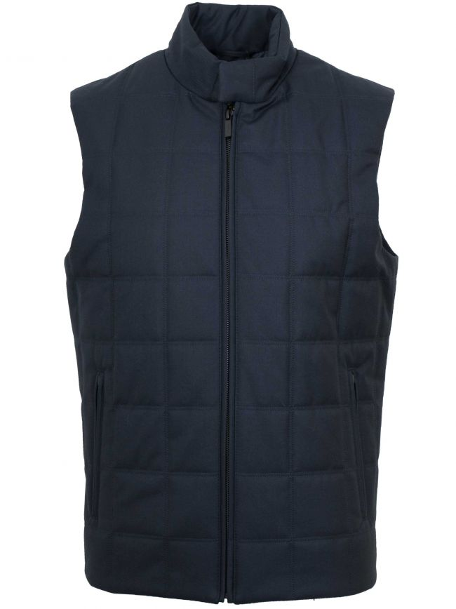 Navy Blue Body Warmer