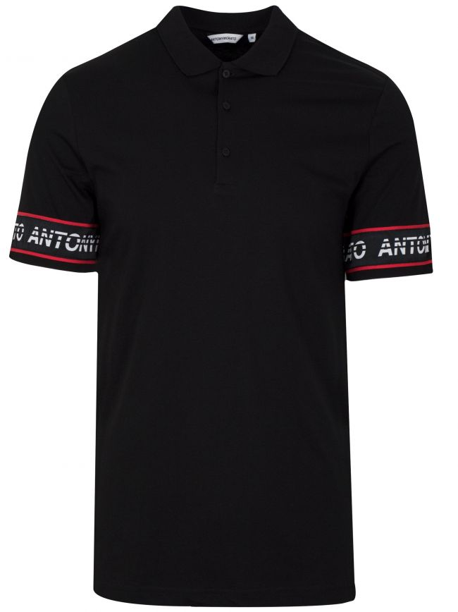 Black Arm Logo Polo Shirt