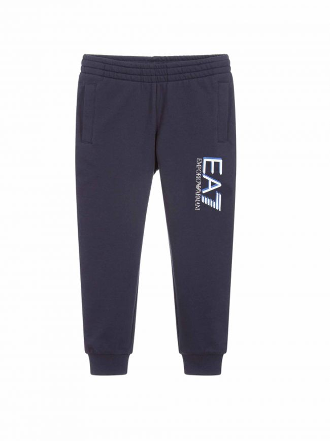 Navy Big Logo Tapered Jog Pant