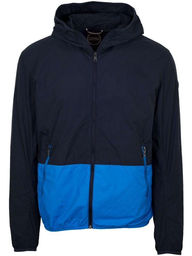 Navy & Royal Blue Waterproof Jacket