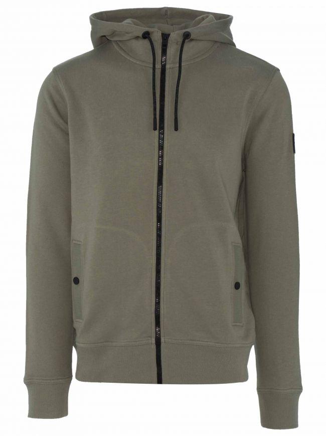 Khaki Zounds 1 Hooded Sweatshirt