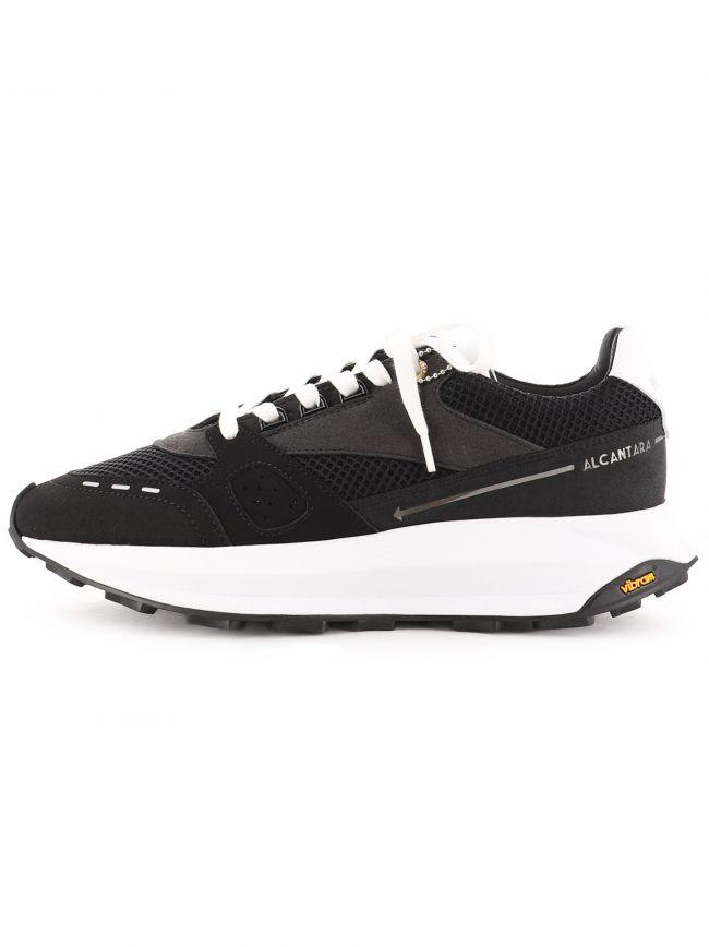 Black Racer Lux Alcantara Sneaker