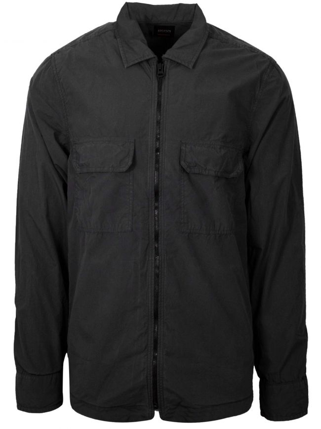 Black Lovel-Zip 2 Overshirt