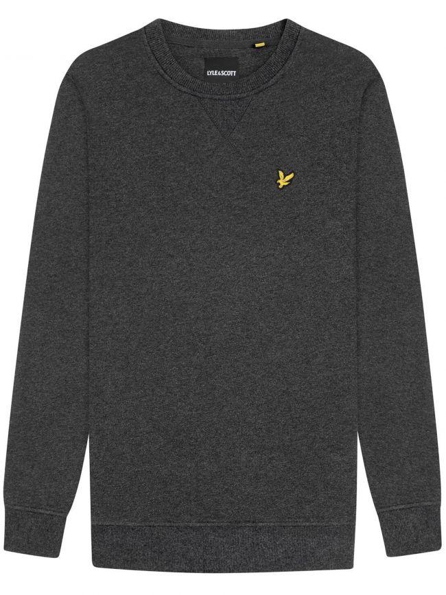 Charcoal Marl Crew Neck Sweatshirt