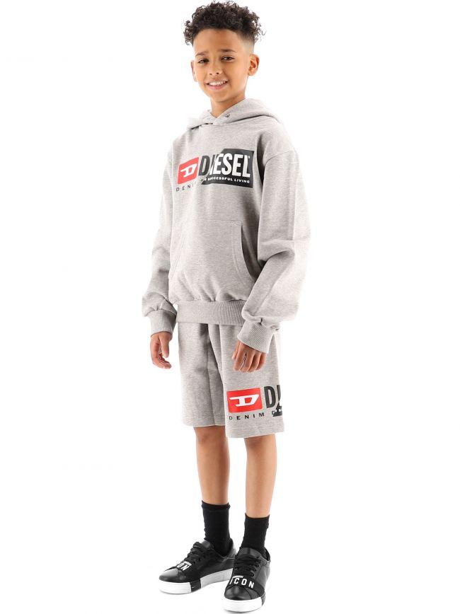 Diesel Kids Grey PCuty Shorts