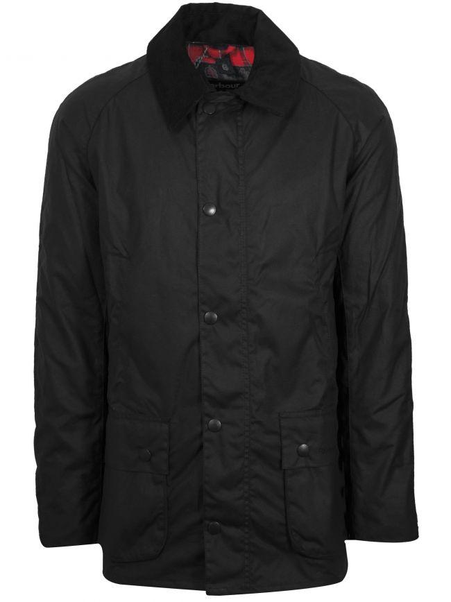 Black Ashby Waxed Jacket