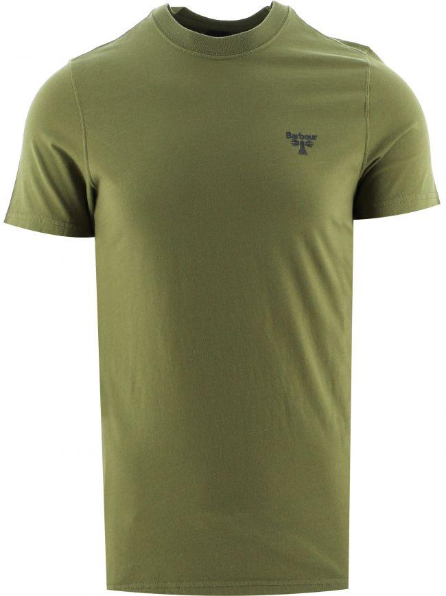 Green  Small Logo T-Shirt