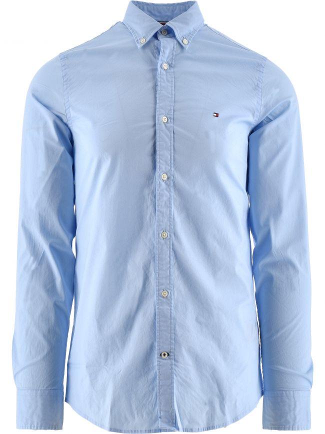Blue Core Stretch Slim Fit Shirt
