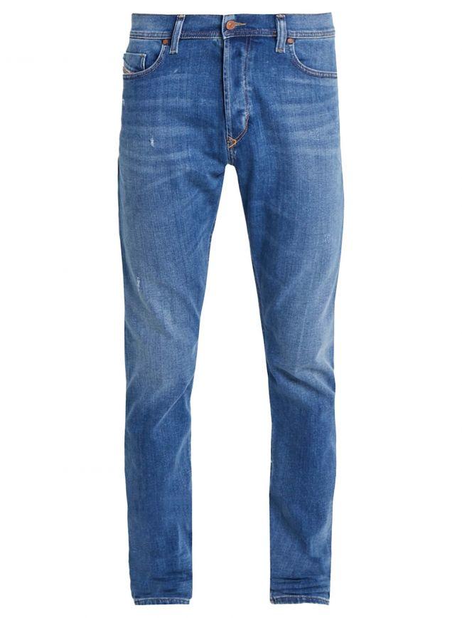 Slim-Carrot Fit Tepphar-X Light Blue Jean